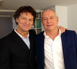 Guy Martin et Patrick Simonin