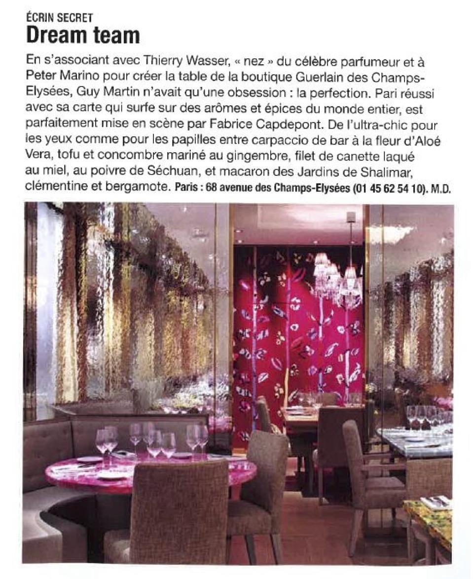La revue de presse de la semaine du 7 novembre for Revue de decoration