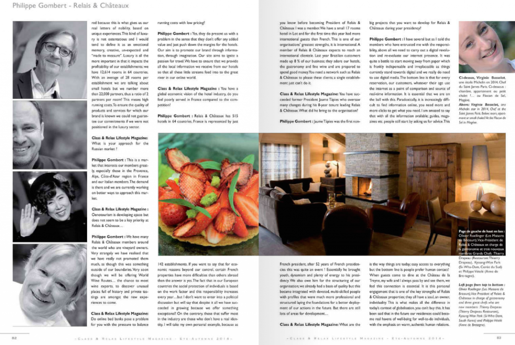 Class & Relax Lifestyle Magazine N°34-35 ©Jean-Emmanuel Hay